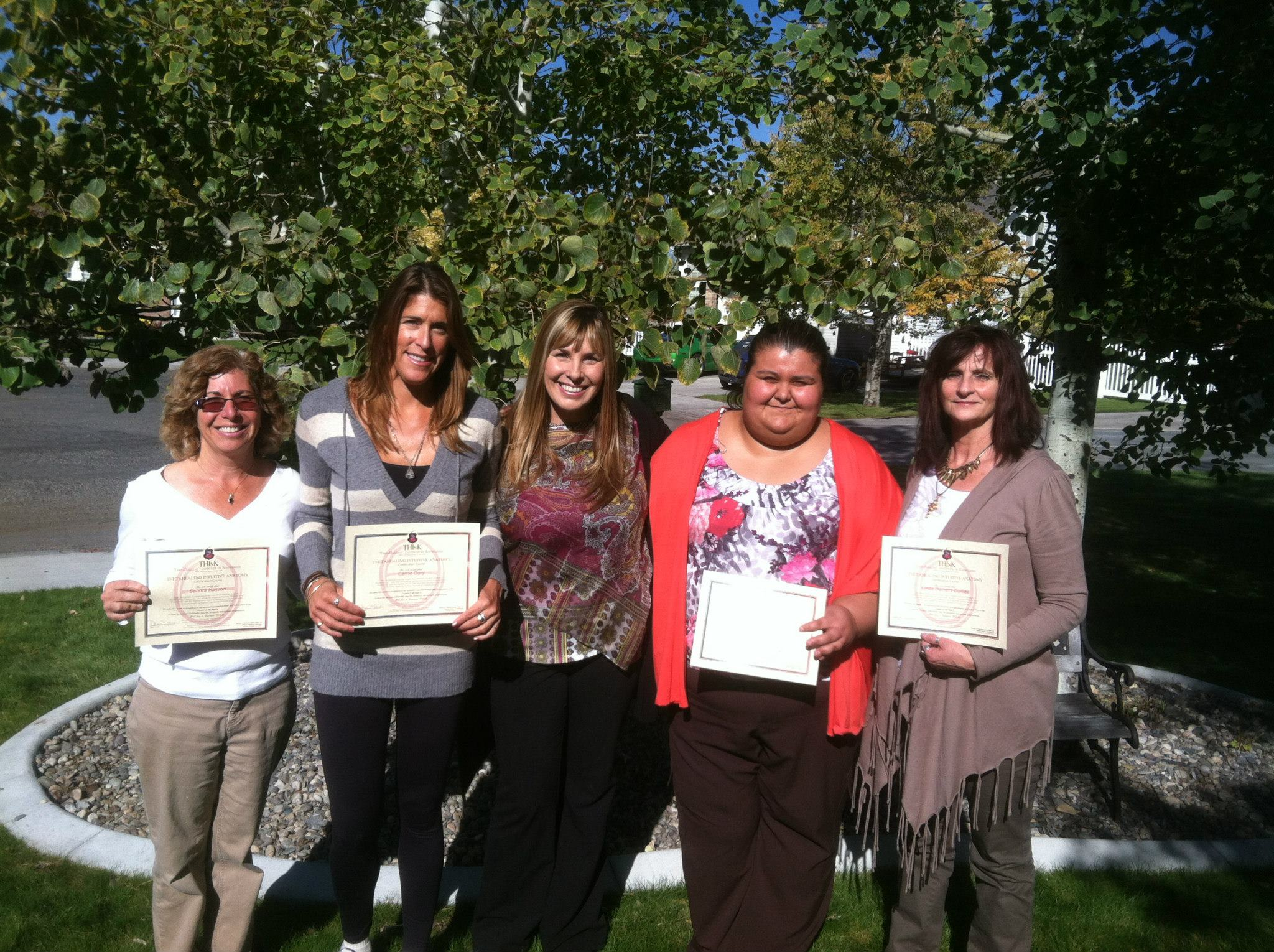 ThetaHealing Intuitive Anatomy Class instructed by Dawn Maree in Ammon, Idaho.