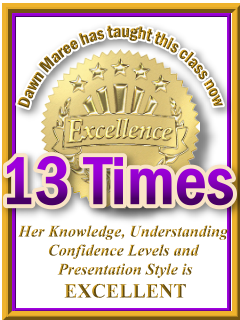 Dawn Maree has taught ThetaHealing World Relations now 13 times. ThetaHealing Certificate of Science, ThetaHealing Master Instructor