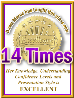Dawn Maree has taught ThetaHealing Dig Deeper now 14 times. ThetaHealing Certificate of Science, ThetaHealing Master Instructor