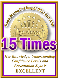 Dawn Maree has taught ThetaHealing Plant Class now 15 times. ThetaHealing Certificate of Science, ThetaHealing Master Instructor