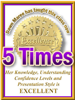 Dawn Maree has taught ThetaHealing DNA3 now 5 times. ThetaHealing Certificate of Science, ThetaHealing Master Instructor